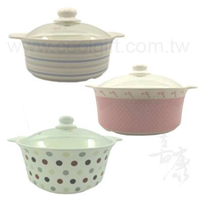 時尚瓷蓋湯鍋
