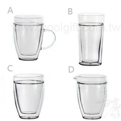 α33耐熱雙層玻璃杯