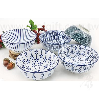 和風日式青紋碗組