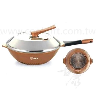 婦樂透韓式瓷晶炒菜鍋