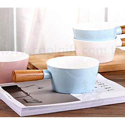 馬卡龍木柄牛奶鍋12cm