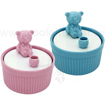 英國熊陶瓷舒芙蕾蛋糕杯(1入)