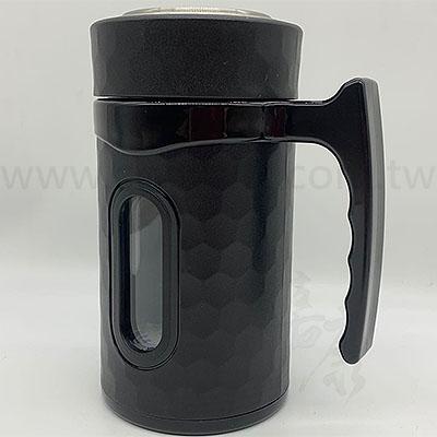 妙管家玻璃隔熱辦公杯420ml