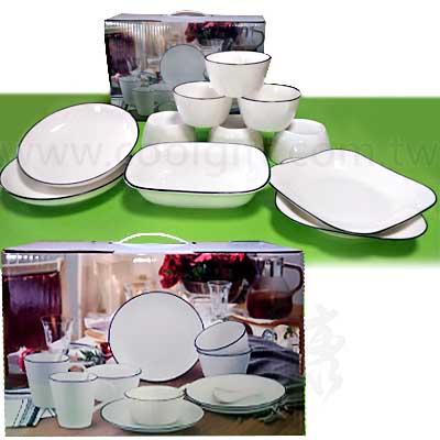 一生一世陶瓷碗盤11件組