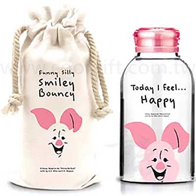 小豬耐熱玻璃瓶袋組