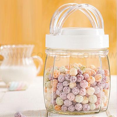 可提式玻璃儲物罐