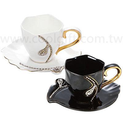 高貴咖啡杯盤組