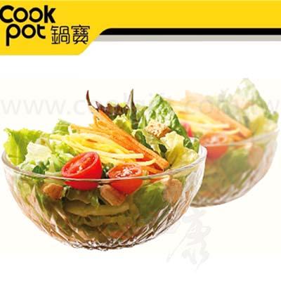 鍋寶鮮匯玻璃碗400ml-6入組