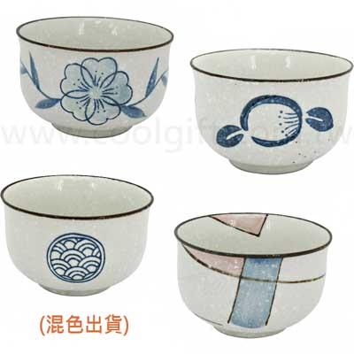 陶瓷手工反口碗4入組