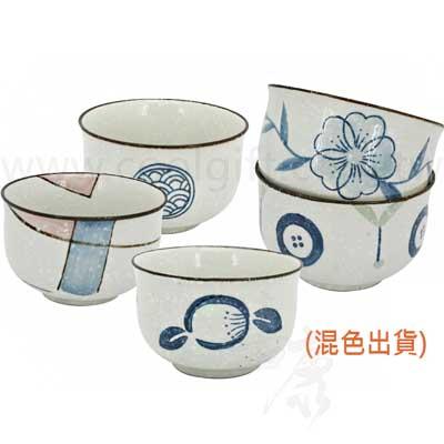 陶瓷手工反口碗5入組