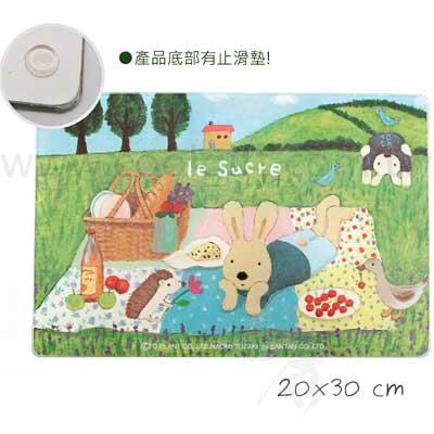 野餐法國兔強化玻璃砧板