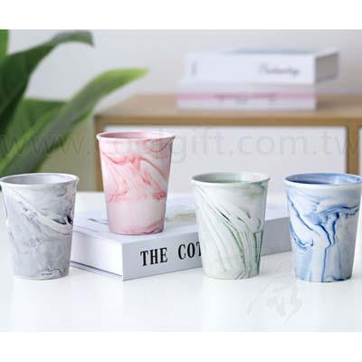 大理石紋陶瓷杯4入/6入組