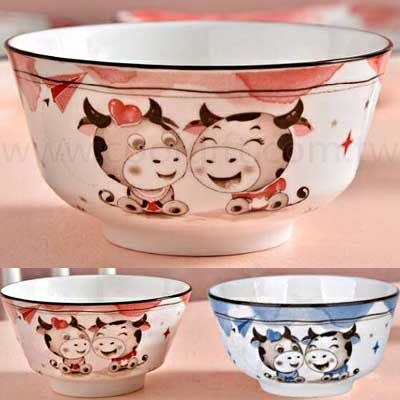 萌牛陶瓷碗