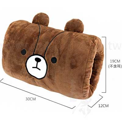 英國熊暖手枕