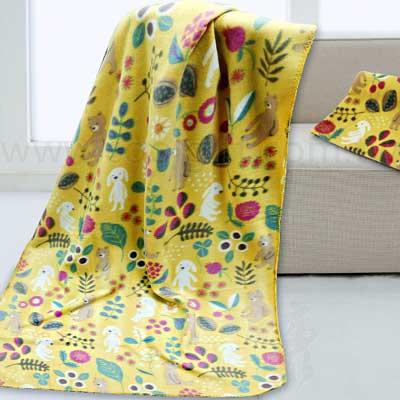 歐普蘭兔舒適冷氣毯