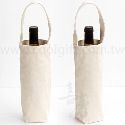 客製化帆布紅酒袋-單入
