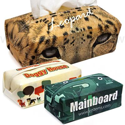 客製環保不織布面紙盒套