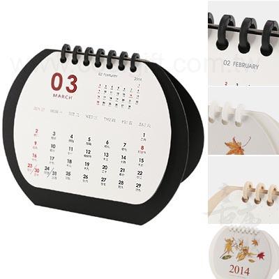 簡約橢圓月曆